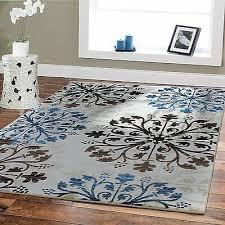 large rugs 8x10 blue area rugs 5x8 rugs blue cream brown floor carpet modern rug
