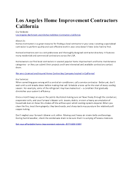 find a contractor in your area. Modren Find Los Angeles Home Improvement Contractors California Our Website  Bathroom And Kitchen Addition To Find A Contractor In Your Area