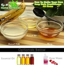 how to make diy banana hair conditioner