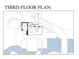 Frank Lloyd Wright  FallingwaterFalling Water Floor Plans
