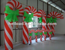 Outdoor Christmas Candy Cane Decorations Diy Outdoor Christmas Candy Decorations Decor Accents 30