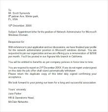 Offer Letter Format Of Job Fresh Appointment Letter Format For It ...
