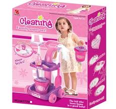 Children\u0027s educational toys\u0027 baby girl 2 3 years old girls cleaning cart gift set simulation tools-in Furniture Toys from \u0026 Hobbies on Aliexpress.com