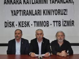 DİSK patlamanın ardından PKK'yı değil hükümeti kınadı