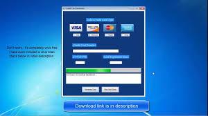 credit card generator 100 working 2016