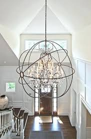 large entryway chandelier foyer lighting large foyer chandeliers contemporary
