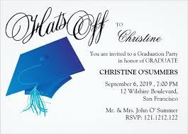 Graduation Lunch Invitation Wording 46 Sample Graduation Invitation Designs Templates Psd Ai