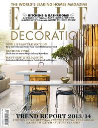 Small Picture 2014 Top Decorating Trends by ELLE Decoration magazine
