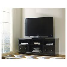 lg tv stand. shay black - lg tv stand with fireplace option signature design by ashley lg tv t