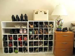 hanging closet shoe organizer ideas for hanging closet shoe storage closet organizers shoe storage for small