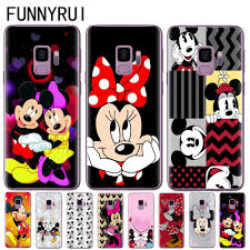 Mickey Minnie Silicone Case <b>For Coque Samsung Galaxy</b> S6 S7 ...