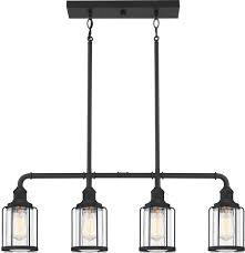 Quoizel Lud434ek Ludlow Modern Earth Black Island Light Fixture