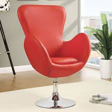 Furniture Chicago Red Swivel Chair