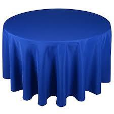 royal blue round tablecloth royal blue 108 inch polyester round tablecloths royal blue round plastic tablecloths