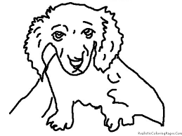 Small Picture Realistic Dog Coloring Pages Coloring Pages Online