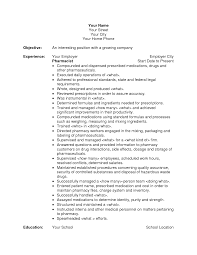 Simple Pharmacist Resume Example With So Many Experience Vntask Com
