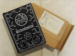below third edition necronomicon 7 inside hand numbered page with simon signature there seems to be a lot of variation in the signature of simon