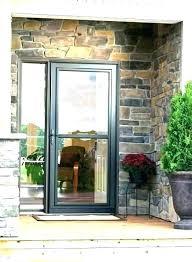 larson storm door closer installation door handle installation instructions storm door handle larson storm door closer