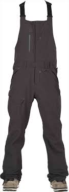 Bonfire Snow Pants Size Chart Bonfire Reflect Bib Ski Snowboard Pants Black S