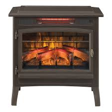 duraflame 3d bronze infrared electric fireplace stove with remote control dfi 5010 02