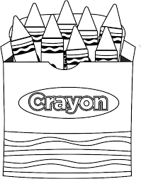 Small Picture Crayon coloring pages in the box ColoringStar