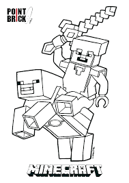 Coloring Pages For Minecraft Coloring Pages For Color Page Coloring