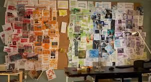 Homeland - Carrie's Wall of notes - ThingLink | Detective aesthetic,  Paranormal aesthetic, Working wall