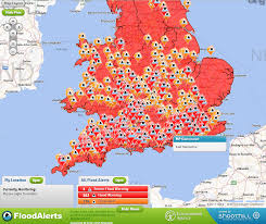 interactive flood warnings map for united kingdom  see the world