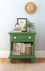 painted green furniture. Night Stand Makeover With Old Fashioned Milk Paint Painted Green Furniture N