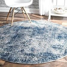 nuloom vintage distressed blue round rug 5 round 5 round 5 round rugs 5 x
