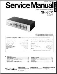 technics sh 8010 m mc service manual analog alley manuals