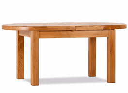 orland oak heavy oval extending dining table
