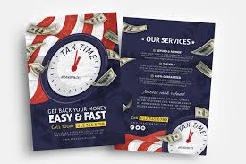 Tax Flyer Design Tax Time Flyer Templates Psd Ai Vector Brandpacks