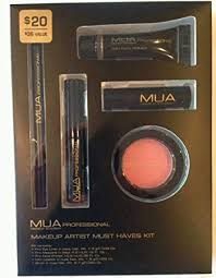 mua makeup academy professional makeup artist must haves kit 5 piece set