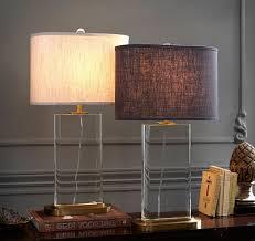 beautiful crystal buffet table lamp buffet table lamps l93
