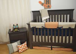 baby woodland nursery bedding marvelous tan and orange crib bedding with navy for a woodland