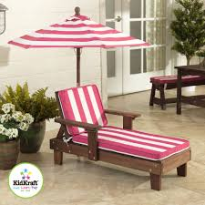 outdoor chaise lounger pink and white com kidkraft outdoor double chaise lounge chair