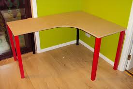 fail diy corner desk wkwk