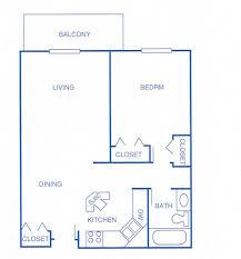 1 Bedroom Ranch   Wilshire Manor Apartments