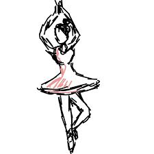 Jak rysować balet - dkq4rdb8z.png / Rysowanie krok po kroku