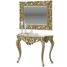 Консоль КН-01 + Зеркало ЗК-04, цвет бронза, ШхГхВ 122х48х82 ...