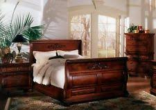 british colonial bedroom furniture. 5 pc king bed hand carved solid mahogany wood sleigh bedroom suite british colonial furniture c