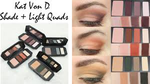 Kvd Shade And Light Rust Kat Von D Shade Light Quads Review Looks With Plum Rust Smoke Sage
