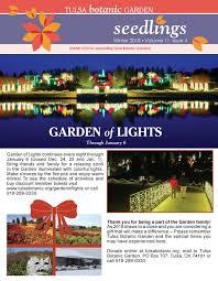 Garden Of Lights January 1 Tbg Winter 2018 Newsletter By Madzbarnes Issuu