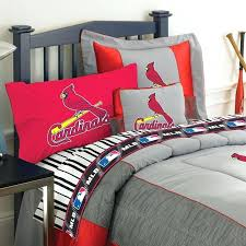 baseball bedding full size st cardinal bedding st cardinals baseball bed sheets full size
