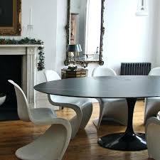 saarinen oval dining table knoll oval dining table black marble top saarinen oval dining table