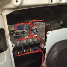 top 1909 ideas about caddy stereo ideas audio 80 series landcruiser custom fuse relay panel