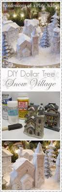 tree wall decor art youtube: christmas diy confessions of a pla confessions of a plate addict last minute christmasdiy dollar tree snow village decorating