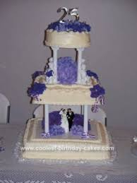 Coolest 25th Anniversary Cake