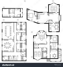modern office plans. Modern Office Architectural Plan Interior Furniture And Construction Design Drawing Project Plans O